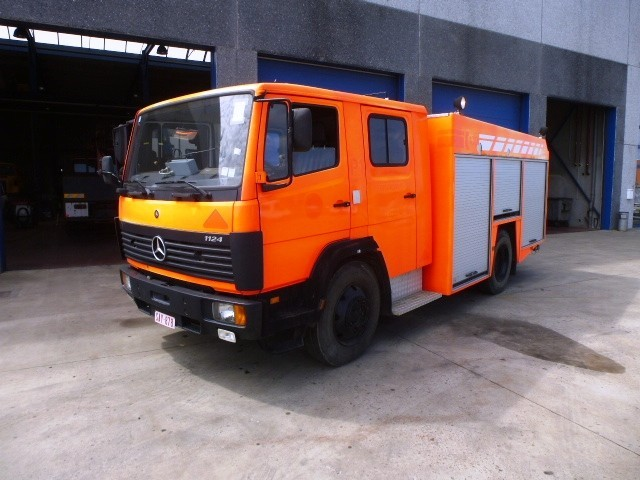 Mercedes benz 1124 fire truck from belgium for sale at for Mercedes benz belgium