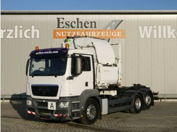 Garbage truck MAN TGS 26.320 6x2-2 LL, Intarder, Luft: picture 1