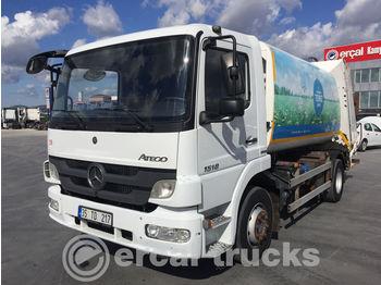 MERCEDES-BENZ 2015 ATEGO 1518 EURO 5 4X2 GARBAGE TRUCK 4 UNITS - garbage truck