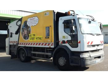 Renault premium garbage truck from france for sale for Location benne a ordure