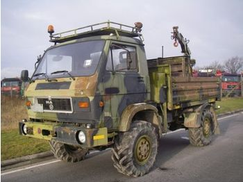 Utility/ special vehicle MAN 8-136 4X4 WITH CRANE / WINCH.