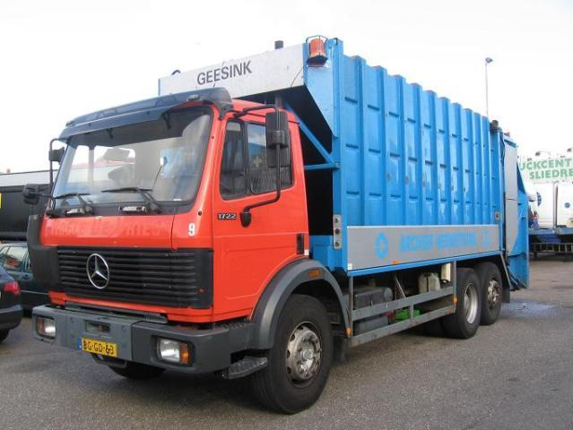 Mercedes benz 1722 2222 6x2 mullwagen pres utility for Mercedes benz utility vehicle