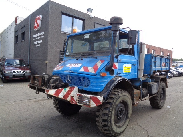 Utility/ special vehicle Mercedes-Benz Unimog gearbox problem - Truck1 ID:  3723166