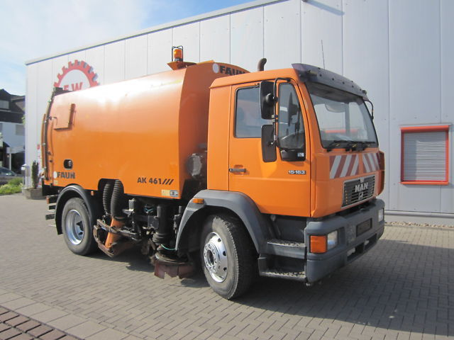 MAN Kehrmaschine Faun AK 461, Sweeper sweeper from Germany ...