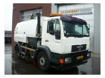 MAN LE 15.180 sweeper from Netherlands for sale at Truck1 ...