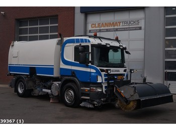 Scania P 270 Brock 7m3 - sweeper
