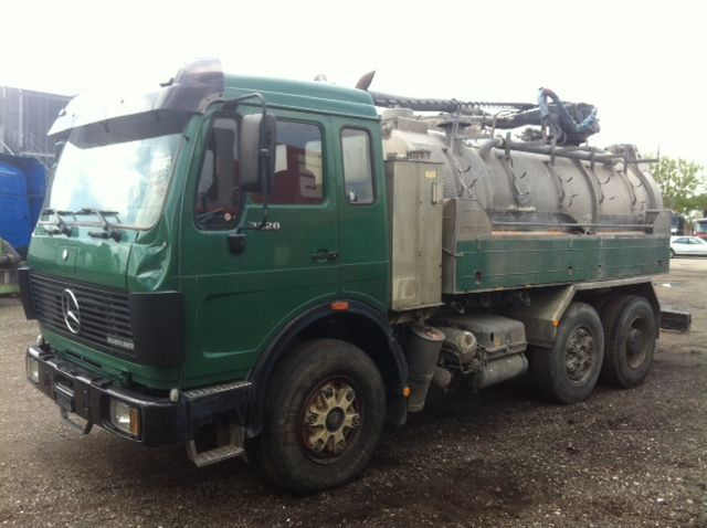 Mercedes benz 2228 kolkenzuiger vacuum truck from for sale for Mercedes benz utility vehicle