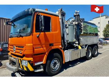 Mercedes-Benz 3346.     6x4  - vacuum truck