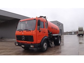 Mercedes-Benz SK 1622 (FULL STEEL SUSPENSION / V6-ENGINE / 9000L) - vacuum truck