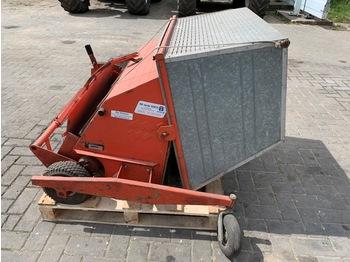 Wiedenmann Star 90 GB Veegmachine - Grasopvangmachine - sop/ renhållningsbil
