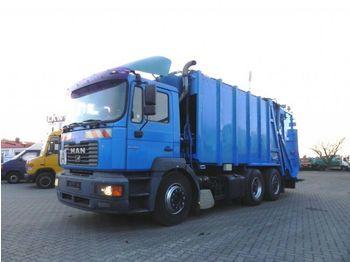 MAN F2000 FE 310 A Müllwagen Schörling, Schüttung  - affaldsmaskine