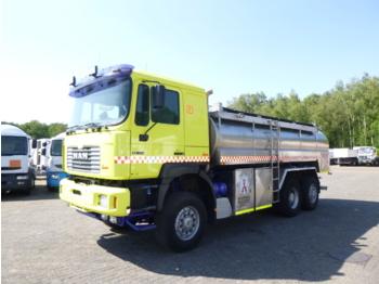 M.A.N. 28.414 6x4 Euro 2 water tank / fire truck 13.8 m3 / 4 comp - slamsugemaskine