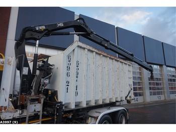 Vaihtokori/ kontti Container 23m3 + Hiab 11 ton/meter laadkraan