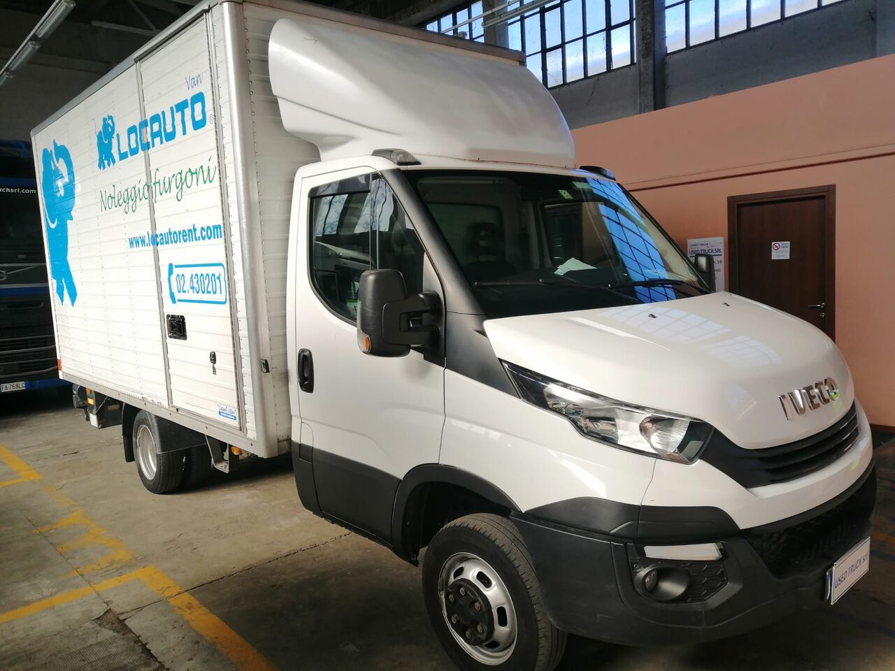 box van IVECO DAILY 35-140