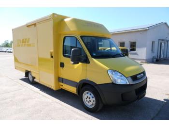 Box van IVECO Daily 35 S11 AUTOMATIK KAMERA Regale klapbar LUF