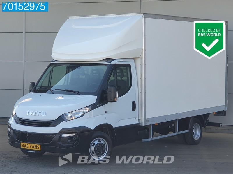 box van Iveco Daily 35C14 140pk Bakwagen Laadklep Zijdeur Airco Cruise A/C Cruise control