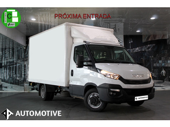 Box van Iveco Daily 35C15 Transversal 3450RD/Plataforma Zepro 750KG