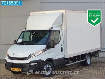 Box van Iveco Daily 35C16 160pk Bakwagen Laadklep Cruise Airco Meubelbak Koffer A/C Cruise control