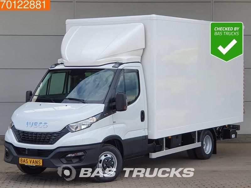 box van Iveco Daily 35C16 3.0 Bakwagen 1000kg laadklep Dubbellucht Zijdeur 21m3 A/C Cruise control