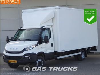 Box van Iveco Daily 70C21 210PK Automaat Euro6 Bakwagen Laadklep Koffer Luftfederung 31m3 A/C Cruise control