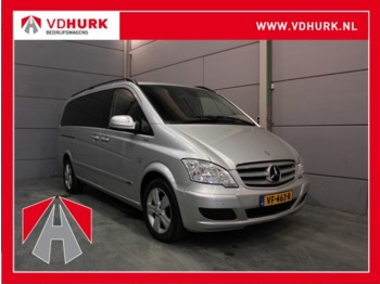 Closed box van Mercedes-Benz Viano 3.0 V6 225 pk Aut. TOPPER! DC Dubbel Cabine Standkachel/Navi/Camera/Climate/Cruise/Stoelverw.