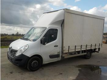 Curtain side van 2016 Renault Master DCI165 Energy Box Van, Tail Lift (German Reg. Docs. Available)
