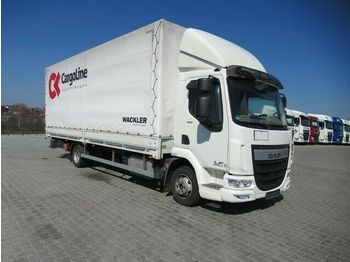 DAF 45LF180 FA Gardine/ Plane, Ladebordwand, Klima  - curtain side van