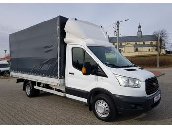 Curtain side van Ford Transit