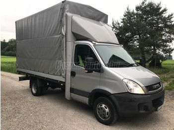 IVECO DAILY 35 C 14 ponyvás - curtain side van