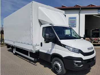Iveco Daily 70 C 18 A8 P LBW+Klimaauto+Lederlenk+Tempo  - curtain side van