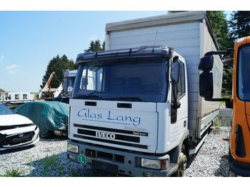Curtain side van Iveco ML 75E17P Pritsche Plane