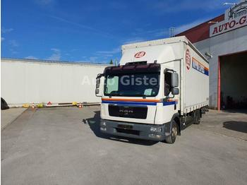 MAN TGL 7.180*Dautel Ladebordwand*  - curtain side van