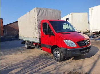 MERCEDES-BENZ 515 CDI Sprinter Plane + Spriegel - curtain side van