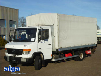 Curtain side van Mercedes-Benz 816D Vario T2, 5mtr. lang, LBW, 2,6to. NL, AHK