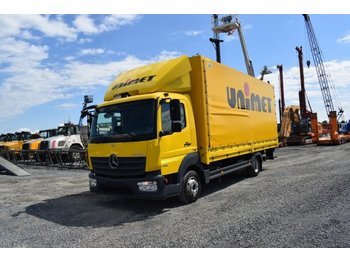 Mercedes-Benz 816 L / Ladebordwand / Euro 6 / Abstandtempomat - curtain side van