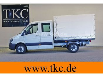 Curtain side van Mercedes-Benz Sprinter 213 313 Doka Pritsche Klima #79T236