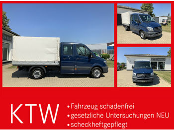 Curtain side van Mercedes-Benz Sprinter 313CDI DOKA,Klima,3665mm Radstand