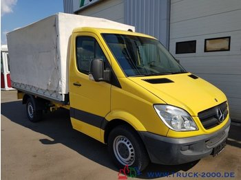 Curtain side van Mercedes-Benz Sprinter 315 CDI Automatik AHK Klima 1. Hand