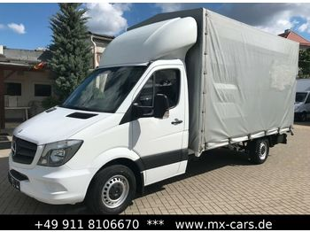 Mercedes-Benz Sprinter 316 CDI Plane Maxi LBW Klima  - curtain side van
