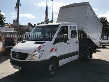 Curtain side van Mercedes-Benz Sprinter 516 CDI Kipper DoKa *1.Hand+AHK+Klima*