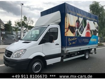 Mercedes-Benz Sprinter 516 CDI Plane Maxi LBW Klima no. 316-03  - curtain side van