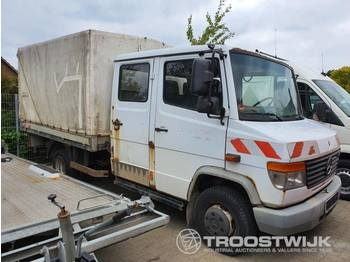 Mercedes-Benz Vario 614D - curtain side van