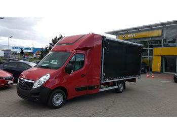 Opel Movano 170 8PAL Back Sleeper  - curtain side van
