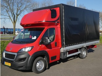 Peugeot Boxer 350 sleepingcabine,5 met - curtain side van