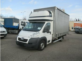 Curtain side van Peugeot Boxer 3,0 l HDi