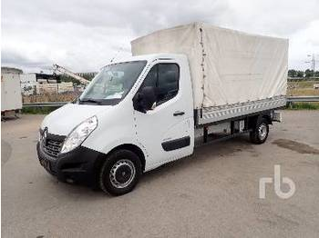Curtain side van RENAULT MASTER DCI 4x2