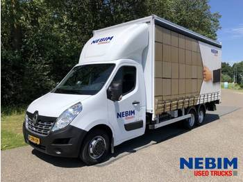 Renault MASTER 160 dCi E6 BE COMBI - curtain side van