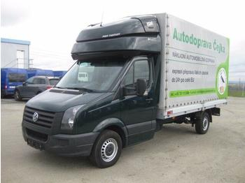 VW Crafter - curtain side van