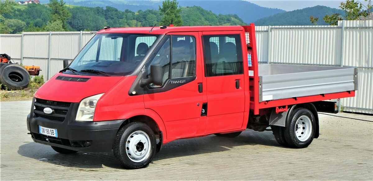 flatbed van ford transit 140 t350 pritsche 2 60m topzustand truck1 id 4557432