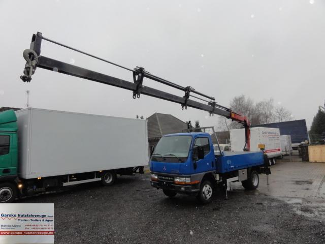 Mitsubishi Canter Kran Funksteuerung Flatbed Van From Germany For Sale At Truck1 Id 909428